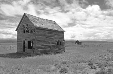 Farmland in America with Old Barn