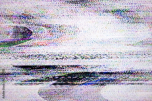 Poster Digital television noise