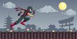 Ninja on the Roof - 65833132