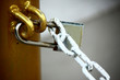 the lock key