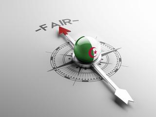 Algeria Fair Concept
