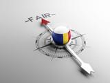 Romania Fair Concept