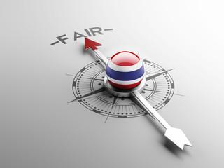 Thailand Fair Concept