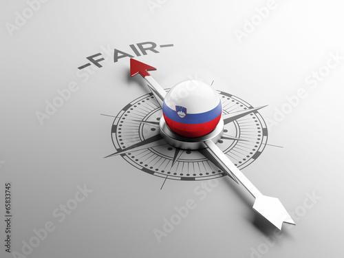 Slovenia Fair Concept