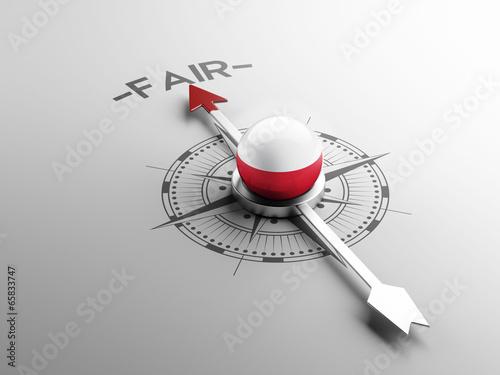 Poland Fair Concept