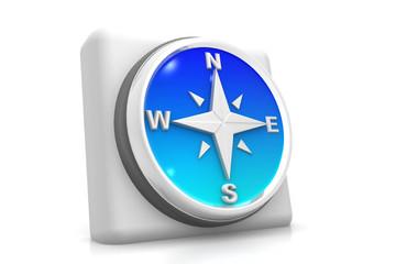 Compass icon ..
