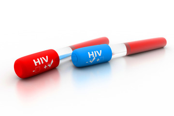 HIV  positive  and negative