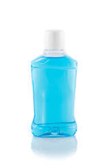 bottles with  mouthwash
