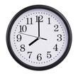 Eight o'clock on the dial clock