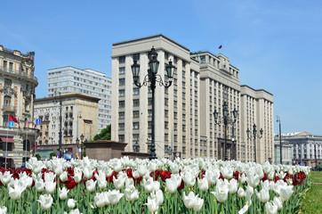 Здание Государственной Думы Российской Федерации в Москве