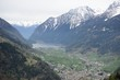 Bernina pass from Glacier Express