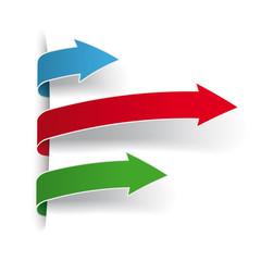 Three Colored Arrows