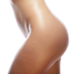 Beautiful buttocks of a nude woman.