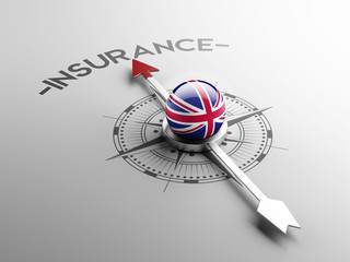 United Kingdom Insurance Concept