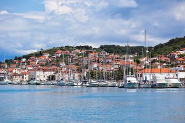 Trogir, Croatia Marina view