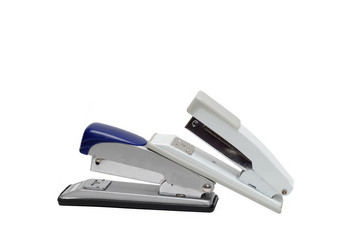 Two office stapler side