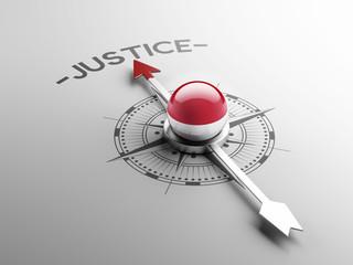 Indonesia Justice Concept.