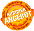 "Button Banner ""Sommerangebot"" orange"