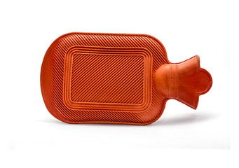 Hot water bottle isolated