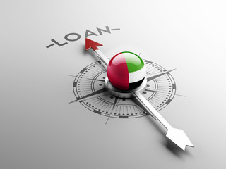 United Arab Emirates. Loan Concept