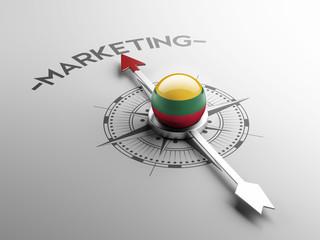 Lithuania Marketing Concept