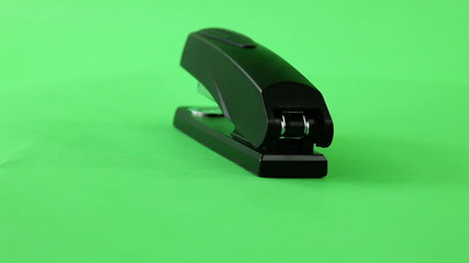stapler turning on green screen