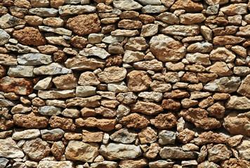 rustikale Mauer