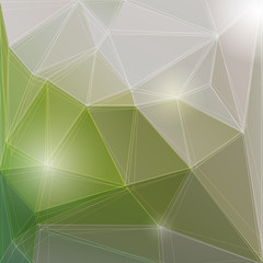 Abstract shiny polygonal background