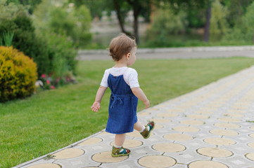 Walking Child on Path
