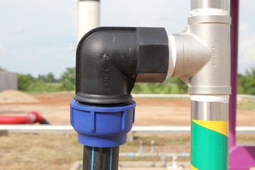 connect union for connect HDPE pipe