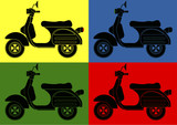 Fototapety Scooter