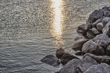 Rocks in the Adriatic Sea