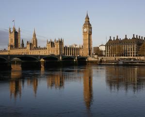 London skyline, Westminster Palace