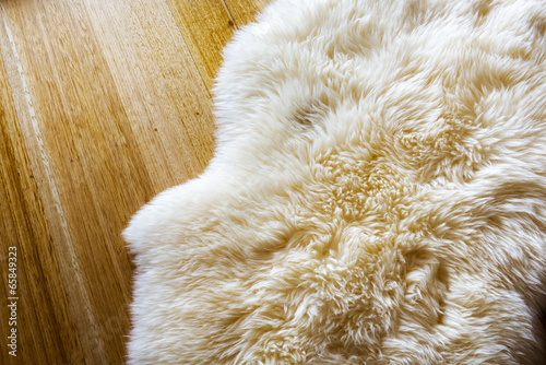 canvas print picture Sheepskin