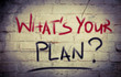 What's Your Plan Concept - 65850767