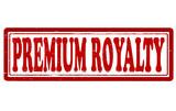 Premium royalty poster