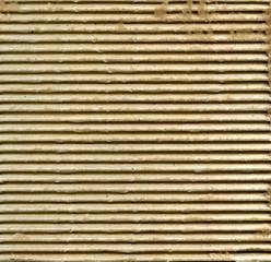Ribbed cardboard