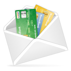 Open the Envelope with Credit Cards