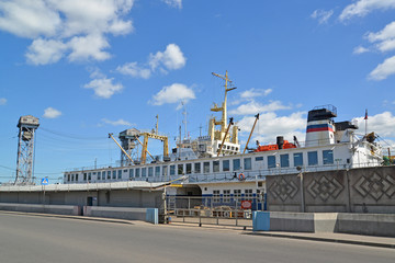 Ship-repair plant in Kaliningrad