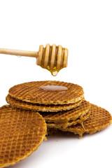 Dutch caramel waffle