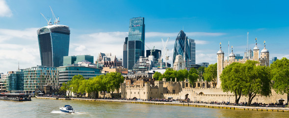 London Summer Panorama