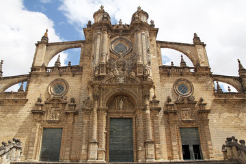 The Cathedral of San Salvador in Jerez de la Frontera, Spain