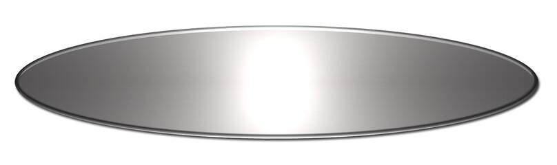 Bouton ovale vierge site web