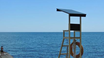 Спасательный пост на Черном море Крым