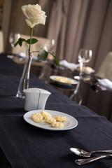 Au restaurant : assiette de beurre