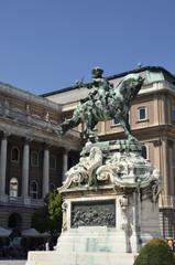 Statua di Eugenio di Savoia, Budapest.