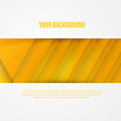 Vector abstract triangles template. Object web