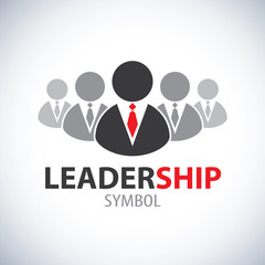 Leadership symbol icon