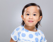 Multiracial smile girl