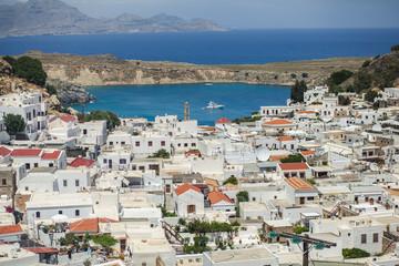 Обзор Линдоса, Греция